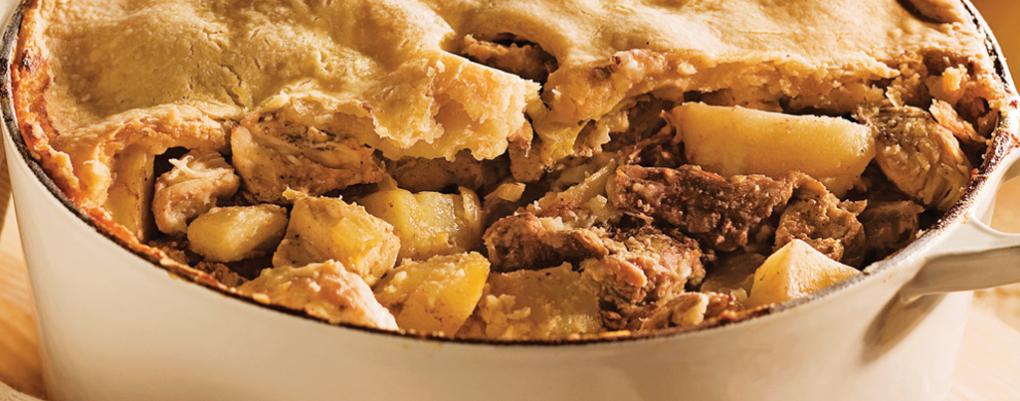 Venez goûter à notre traditionnelle Tourtière faite ici même!